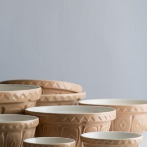 Cane Mixing Bowls